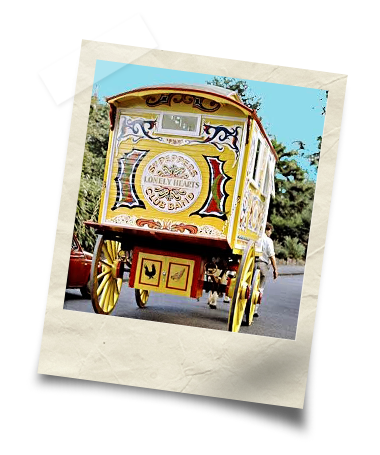 John Lennon's Gypsy Caravan